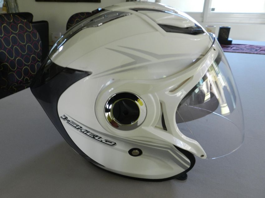 Index I-shield Open Helmet White