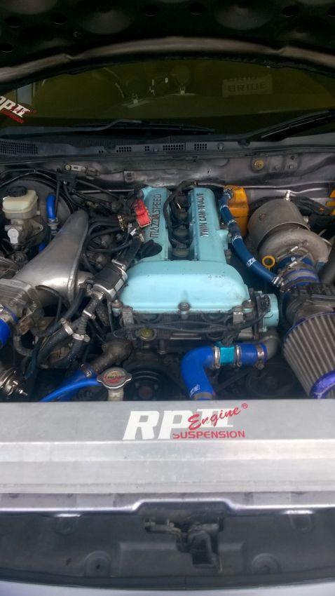 Mazda RX8 2006 LPG MT transplant Mazda speed engine 4Cyl,275,HP 595000