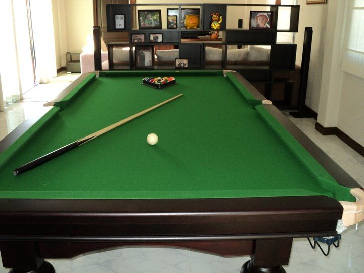 4 by 8 Ft pool table for sale - in near new condition