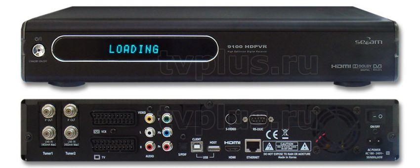Satellite Receiver Sezam 9100 HDPVR