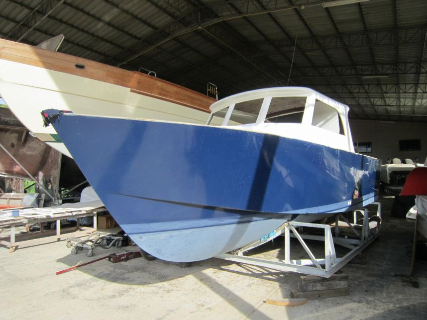 Unfinished 28' Motor Launch For Sale