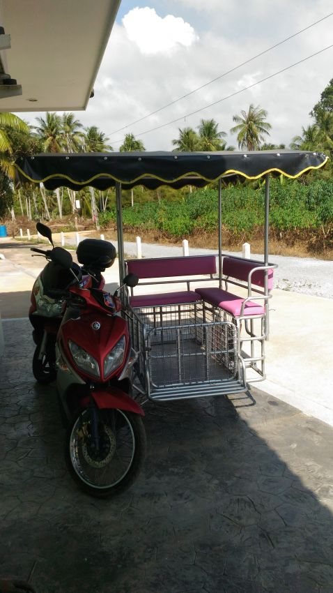 Motorbike Yamaha With Side Car For Sale