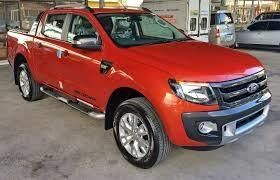 Ford Ranger Wild Track chilly orange for sale Auto 2.2