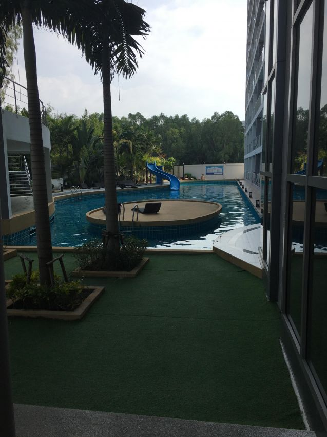 Laguna Beach Resort 1 1Br/47 sqm Pool View 8th Floor/ Rent