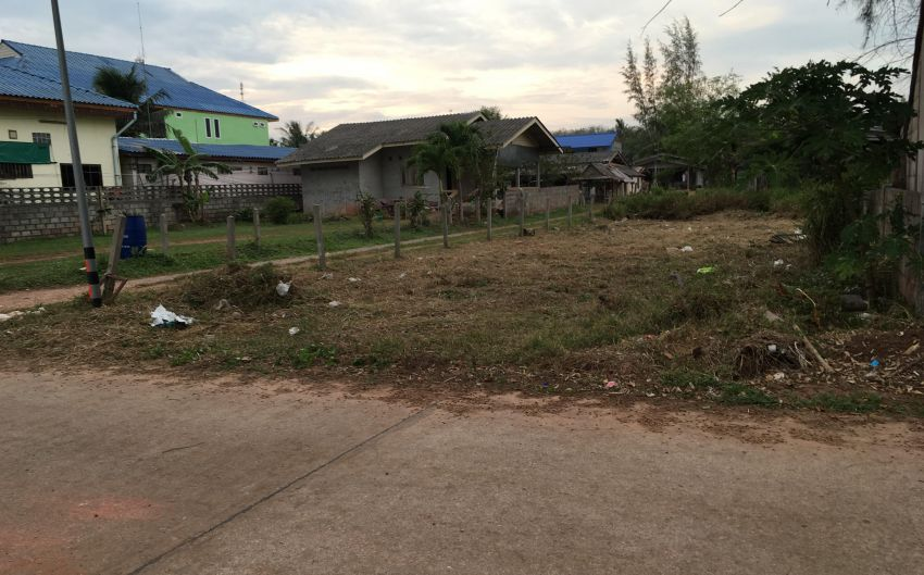 Beach Front Land for Sale Bangsaphan
