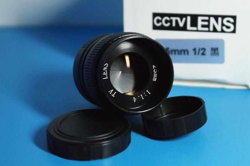 New In Box Fujiаn 25mm F1.4 Lens C Mount