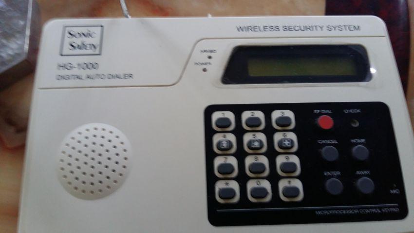 Indoor alarm infrared