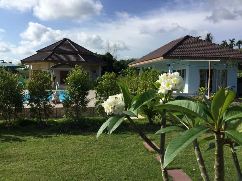 Quiet property with pool and beautiful big garden