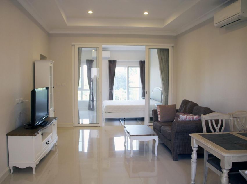 Khao Yai condo, small inside big outside