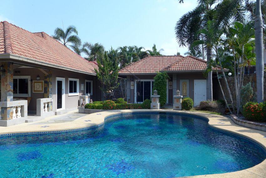 Villa w tropical Garden, Pool, Guesthouse