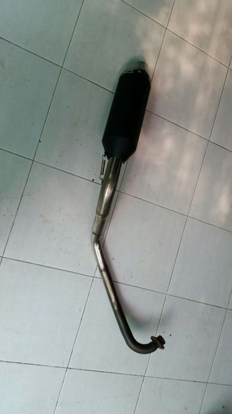 Honda MSX full exhaust and parts