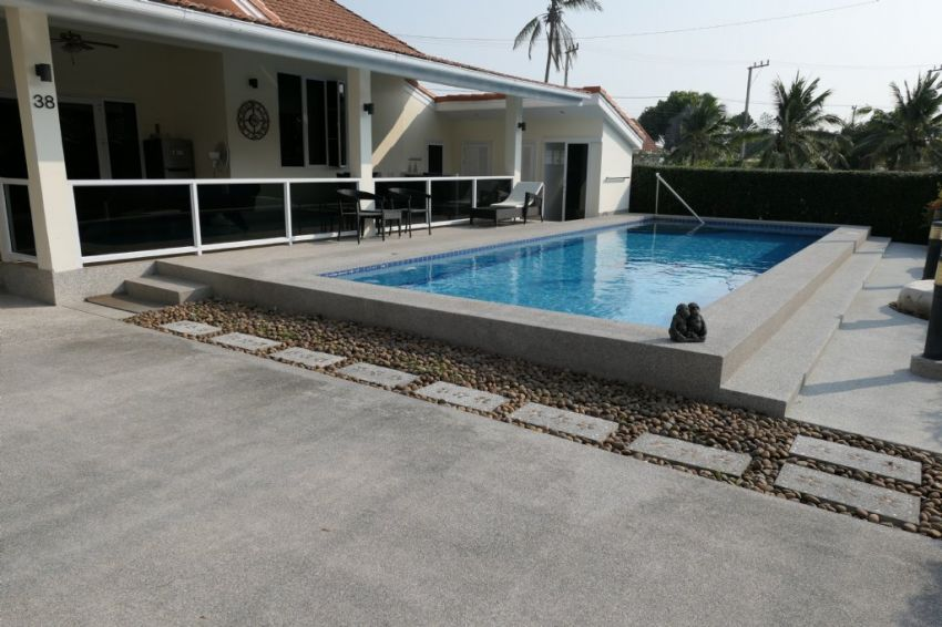 Chantha Garden pool villa near Palm Hills Cha-Am Hua Hin