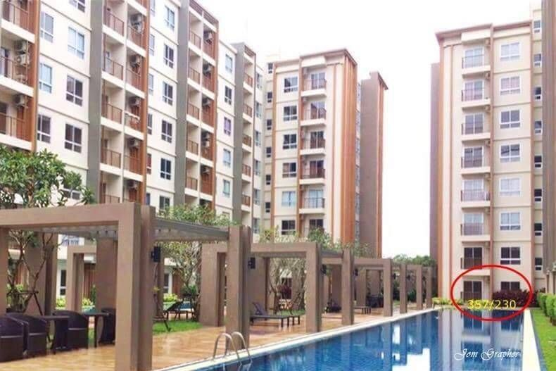 Unique CP Land Pool view Furnished 1 bedroom Condo