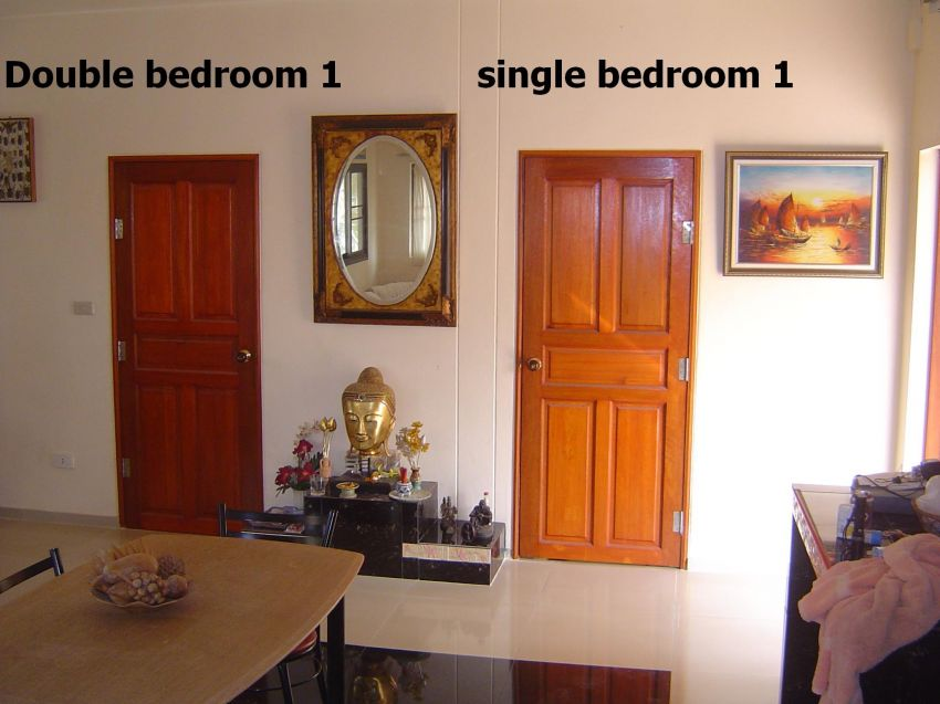 River view - furnished flat for rent - ubon, front of hadkudua + pool