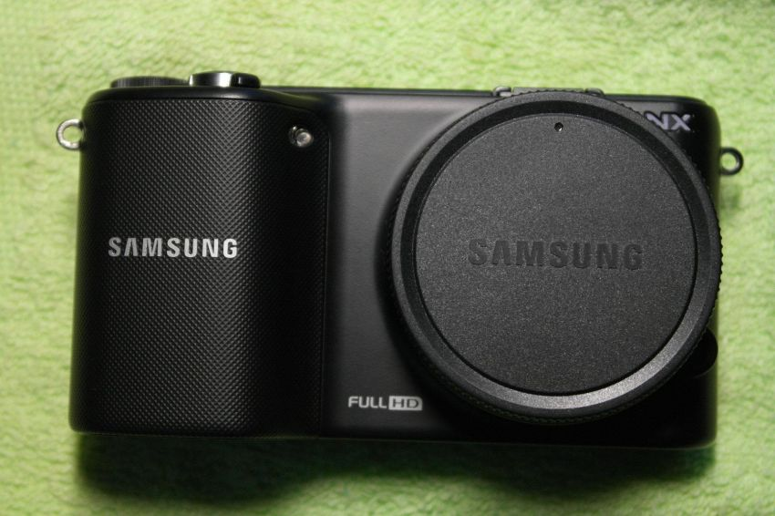 Samsung NX2000 20.3MP Camera, Black Body