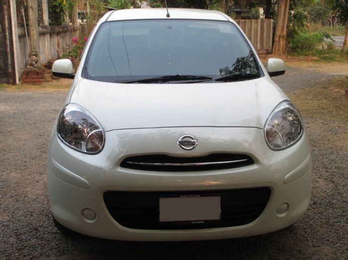 Nissan March for rent