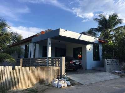 Songkhla buy home ขายบ้านสงขลา ขายบ้านเดียวถาวรนิมิต 3ห้องนอน 2ห้องนำ้