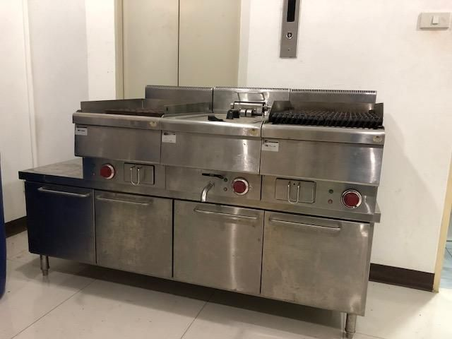 Stainless Steel Prof Cooking Station
