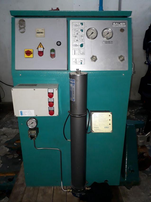 Bauer Mini Verticus compressor reduced!
