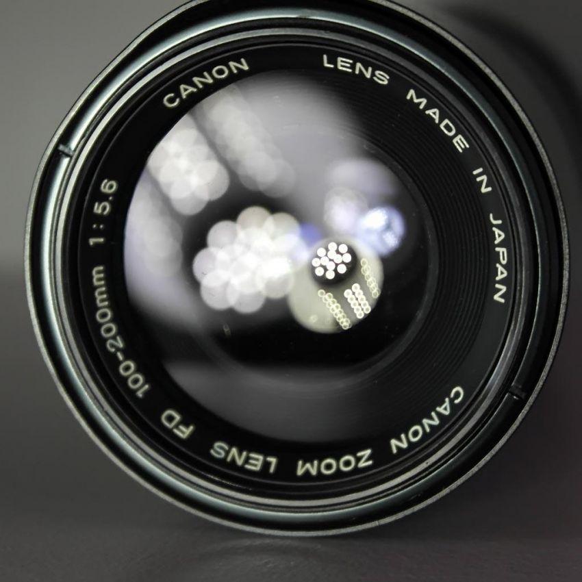 Canon 100-200mm f5.6 lens
