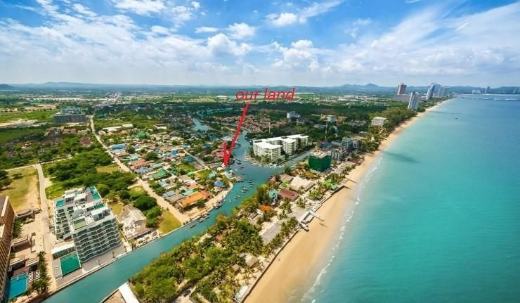land on river - na jomtien - price reduced
