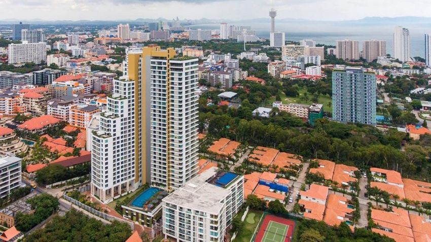 The Peak Towers Pratumnak Hill - Finance Available