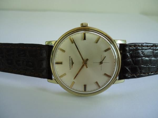 Longines Gents Gold Filled Hand Wound Caliber 490 Watch