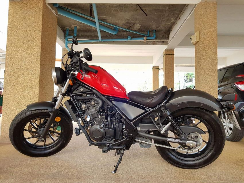 Honda Rebel 500, 2017 with extras!