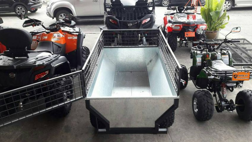 Promotion : Tip up Trailer Brand new Galvanised