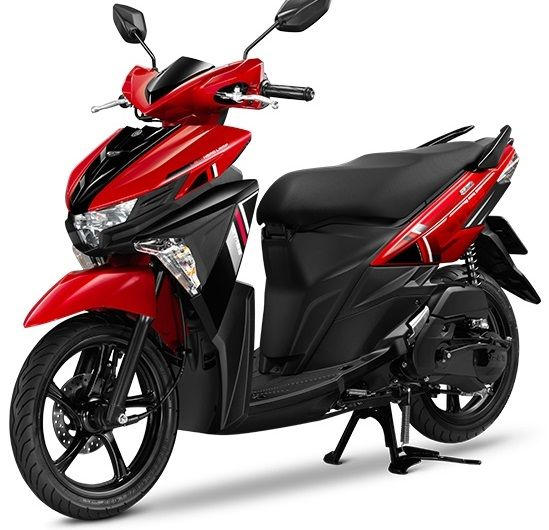 Yamaha Mio GT 125 - start 2.500 ฿/month (83 ฿/day)