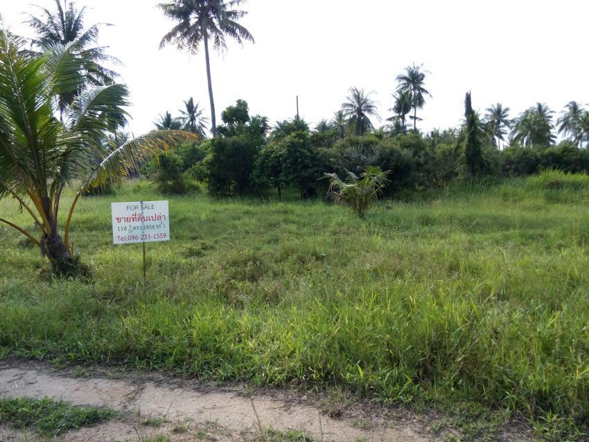Land for sale in Prachuap khiri khan 456 Sqm.