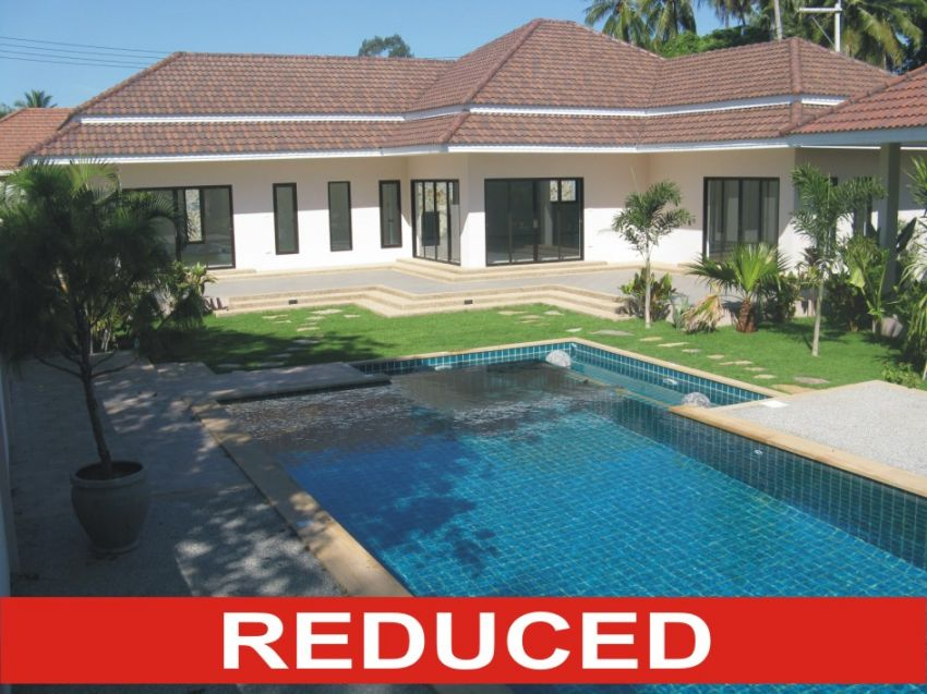 Newly Completed 3 Bedroom Pool Villa