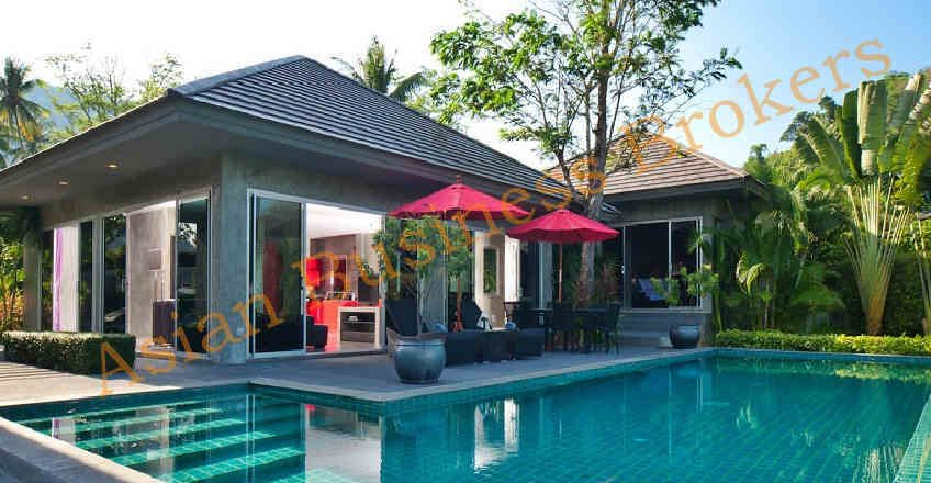 4803009 Phuket 4 Luxury Holiday Villas Package Freehold Sale