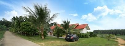 For sale resort Koh Samui 1 villa and 4 bungalows on chanote