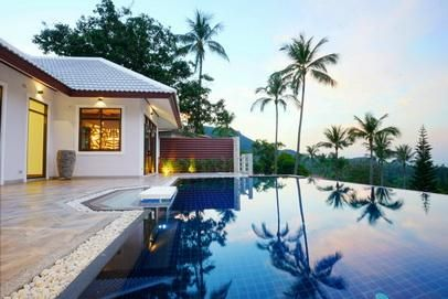 For sale new villa 4 bedrooms Fitness pool in Koh Samui