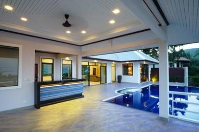 For sale new villa 4 bedrooms Fitness pool in Koh Samui