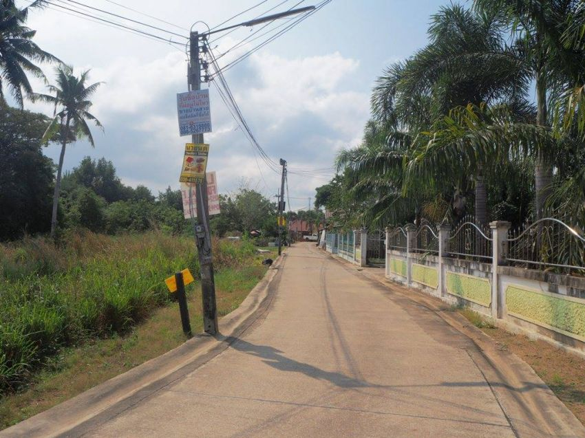!!! Price reduced by 5 million baht !!! Land for sale in the