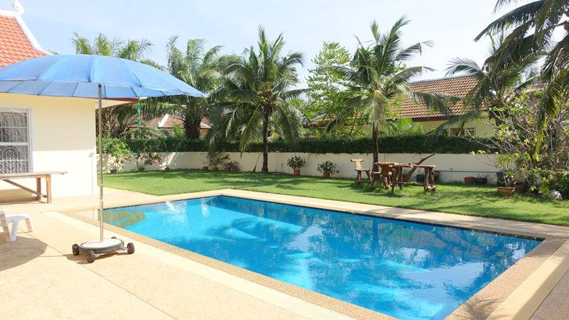 Lovely 3 bedroom pool villa in Estate, Huai Yai