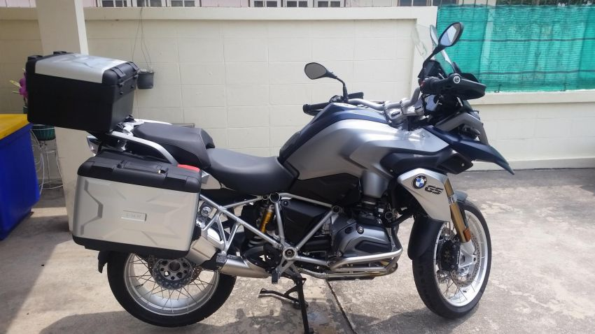 BMW R1200GS LC 2015 only 9000km Trade possible