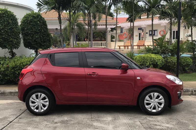 Suzuki Swift for rent in Pattaya