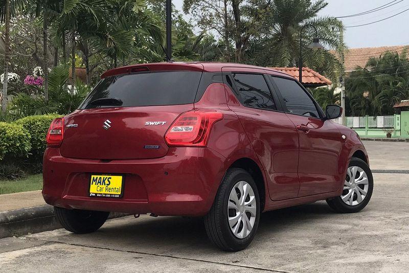 New Suzuki Swift 2018 for rent in Pattaya