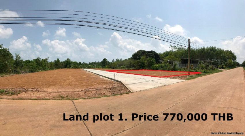 Land for sale, next to the main road!