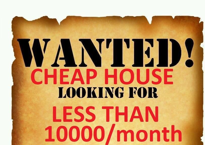 House to Rent Less than 10000/month