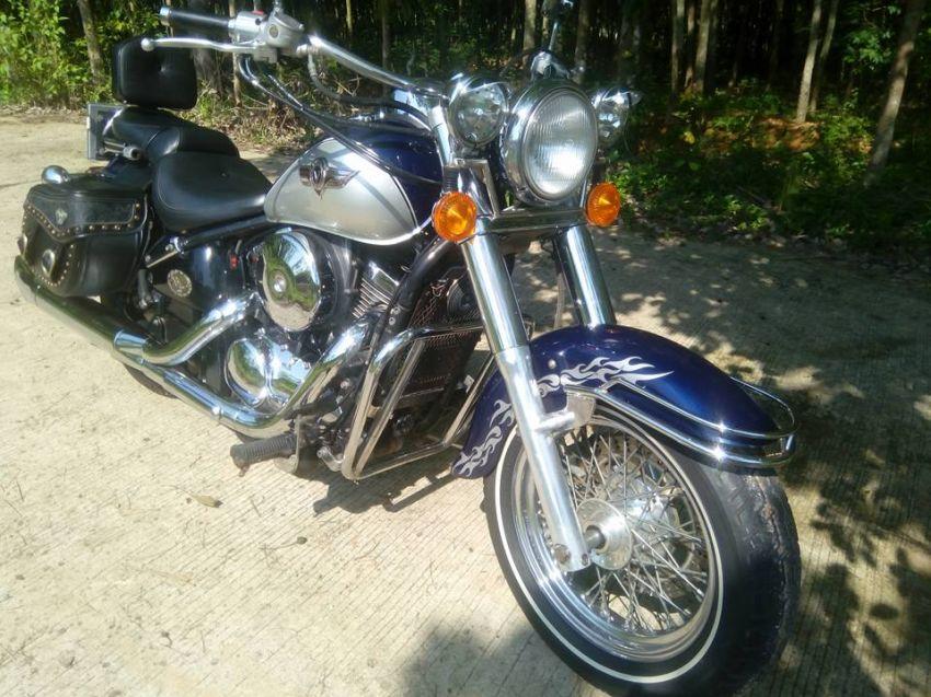Kawasaki vn 800 classic, very good condition