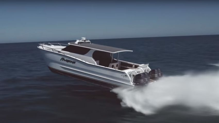 Luxury Cruiser/sportfisher High Performance Catamaran