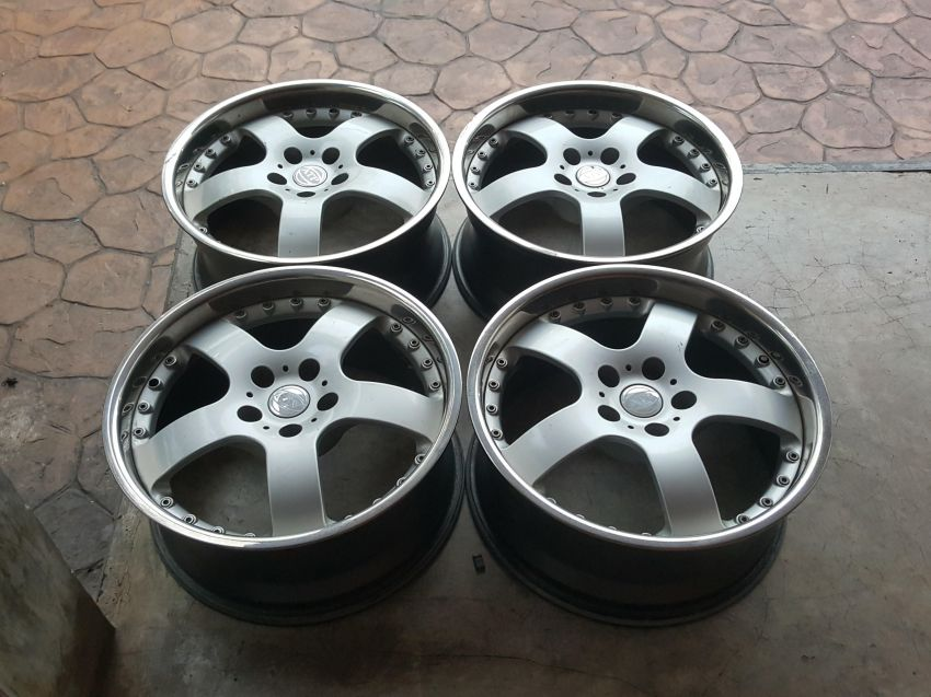ATP Alloy Wheels 8.5x18 5H114 Made in Italy