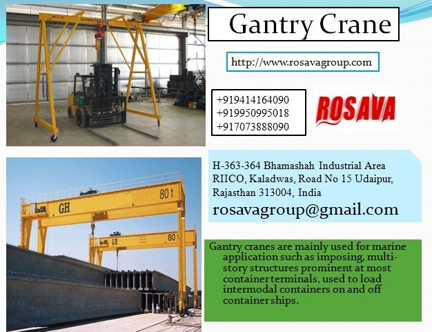 Leading Gantry Crane Manufacturer