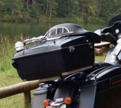 Original (Not copy) Harley Rear Luggage