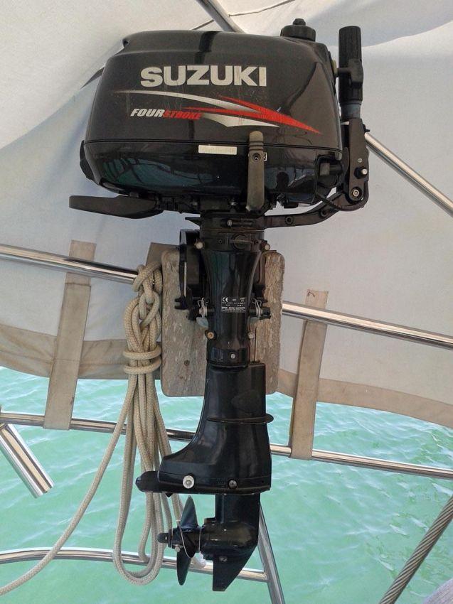 6 HP SUZUKI 4-Stroke Outboard for sale