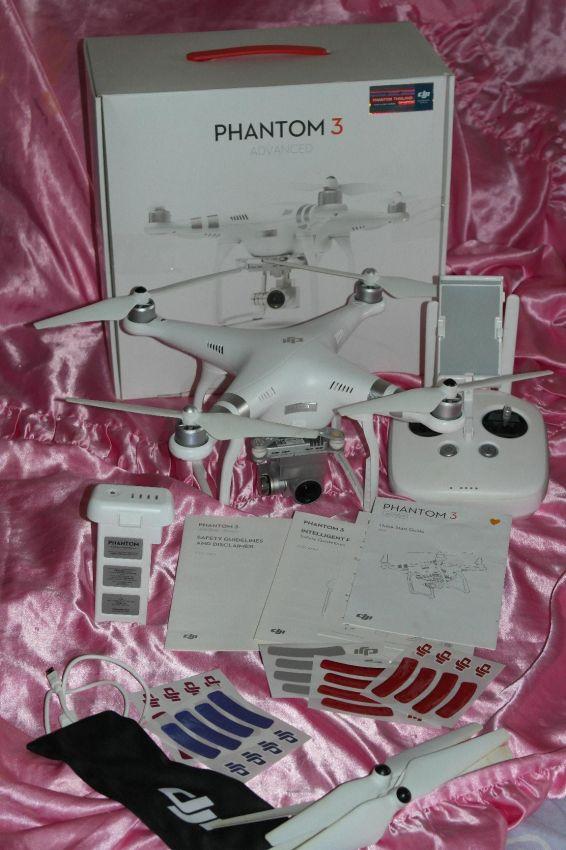 DJI Phantom 3 Advanced. Drone in Box